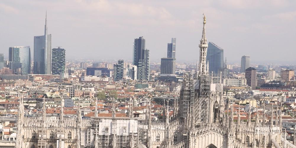 Attico Oikos Torre Velasca 15 - vista Duomo